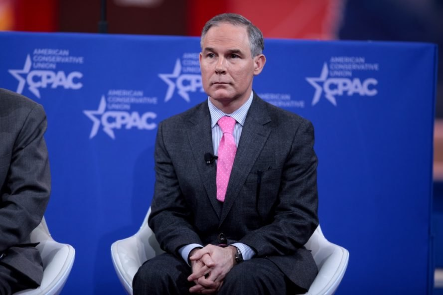 EPA, Scott Pruitt, climate change, global warming, carbon dioxide, CO2