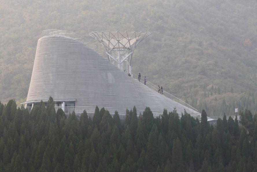 Shaolin Flying Monks Temple, Shaolin Flying Monks Temple by Mailītis Architects, wind tunnel by Mailītis Architects, wind tunnel for Shaolin monks, flying shaolin monks, levitating monks, monks and levitation