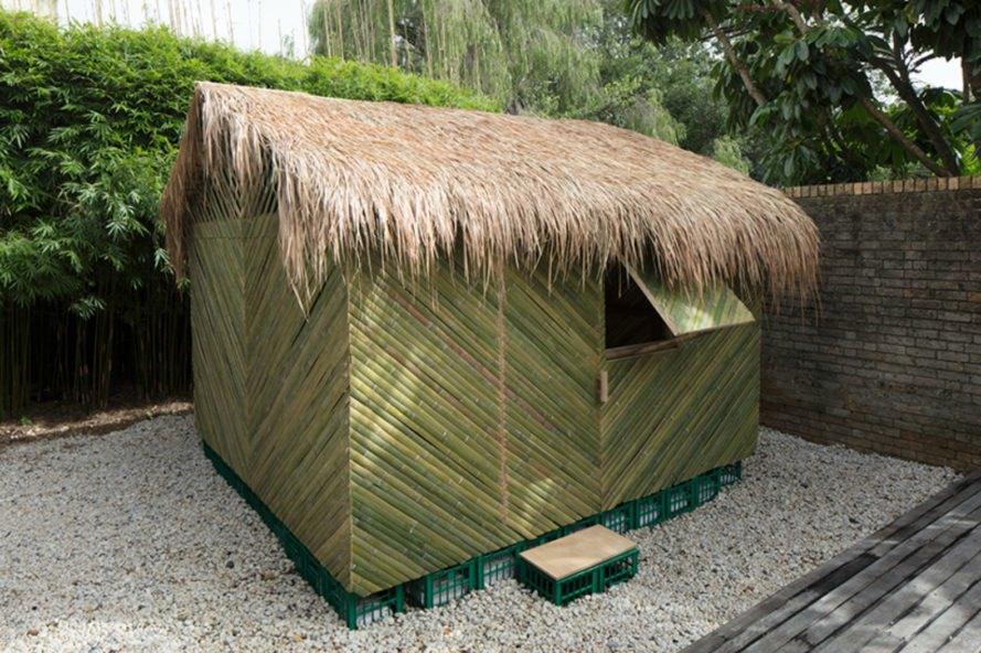 Shigeru Ban Architects, Shigeru Ban Architects, shelter design, disaster shelters, disaster structures, humanitarian design, temporary architecture, cardboard architecture, temporary shelter, shelter structures, bamboos structures, locally-sourced materials, Ecuado, bamboo shelters, Pritzker Prize architects, affordable housing, cardboard housing, green design, humanitarian architecture