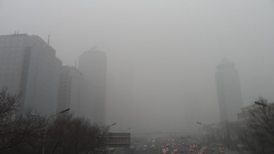 Beijing, China, smog, air pollution