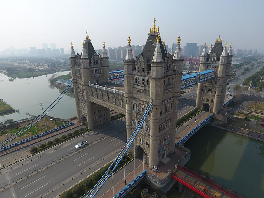 Copycat Tower Bridge In China Sparks Controversy