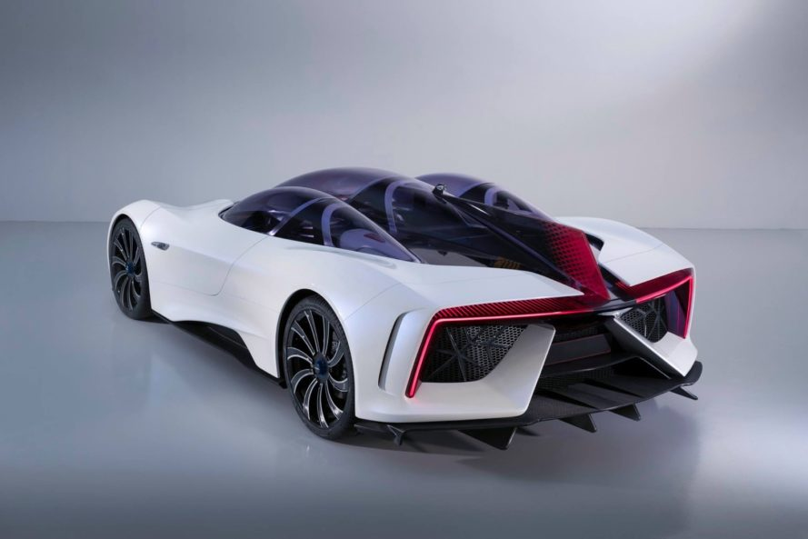 techrules, techrules ren, 2017 geneva motor show, geneva motor show, trev, electric car, electric supercar, hybrid, range extender, electric car range extender, green car, green transportation, electric motor, automotive