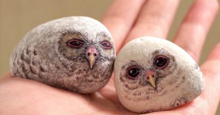 Artist's incredibly realistic stone animals are begging to be cuddled