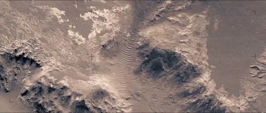 mars, nasa, video, hirise, jan frojdman, 3d video of mars surface, stunning video shows surface of mars,