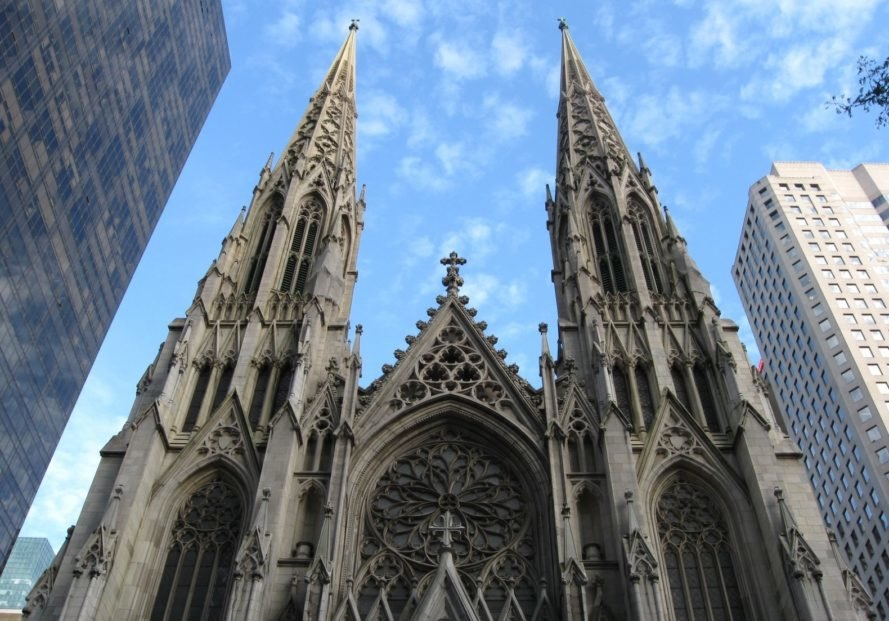 St. Patrick's Cathedral, geothermal, renewable energy, sustainability