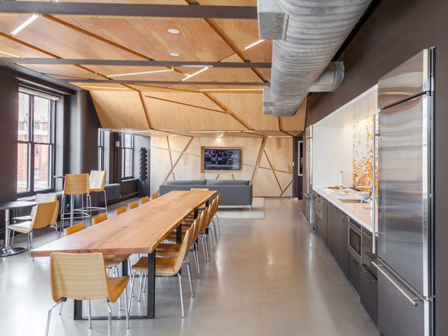 First well certified office space debuts in new york city for Certified building designer