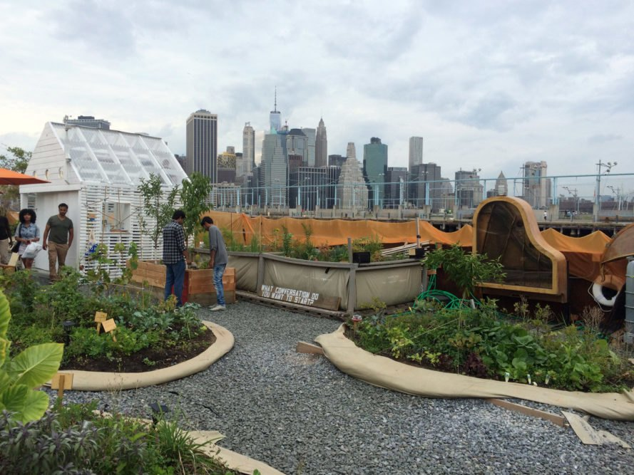 Swale New York, community parks, community gardens, New York City, New York, edible gardens