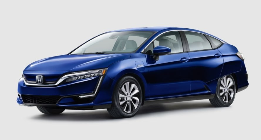 honda, honda clarity, honda clarity electric, honda clarity fuel cell, honda clarity plug-in hybrid, 2017 honda clarity, 2018 honda clarity, hybrid, plug-in hybrid, electric car, fuel cell vehicle, green car, new york auto show, green transportation