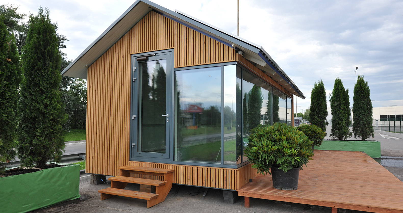 these 3d printed off grid tiny houses can withstand. Black Bedroom Furniture Sets. Home Design Ideas