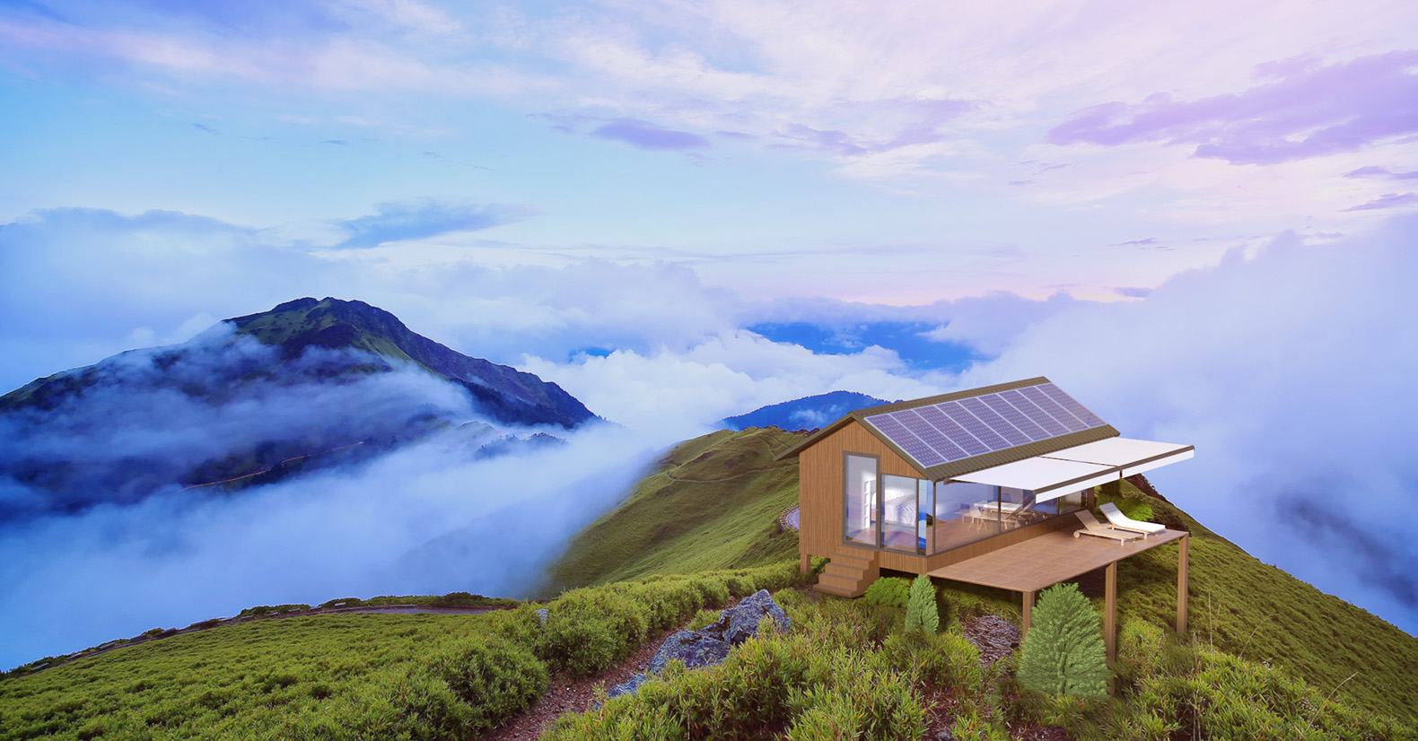 These 3D-printed off-grid tiny houses can withstand hurricanes and earthquakes