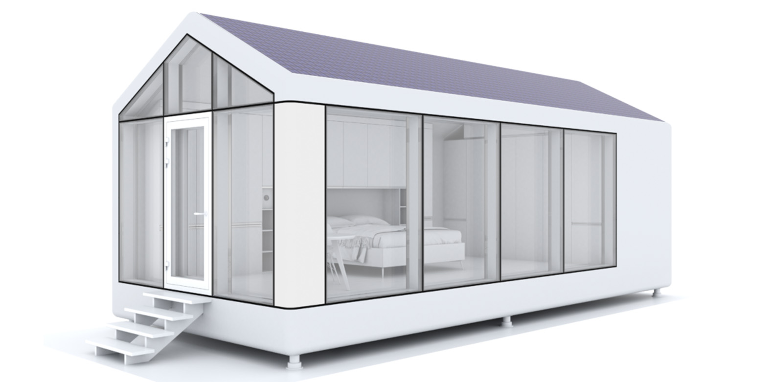 These 3d Printed Off Grid Tiny Houses Can Withstand