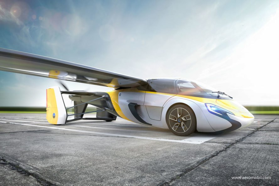 Flying car, green transportation, green technology, green innovation, flying vehicles, futuristic cars, AeroMobil, AeroMobil flying car, flying car preorders, AeroMobil preorders, hybrid car