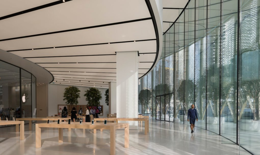 Apple S Newest Store Has Solar Wings Quot That Transform