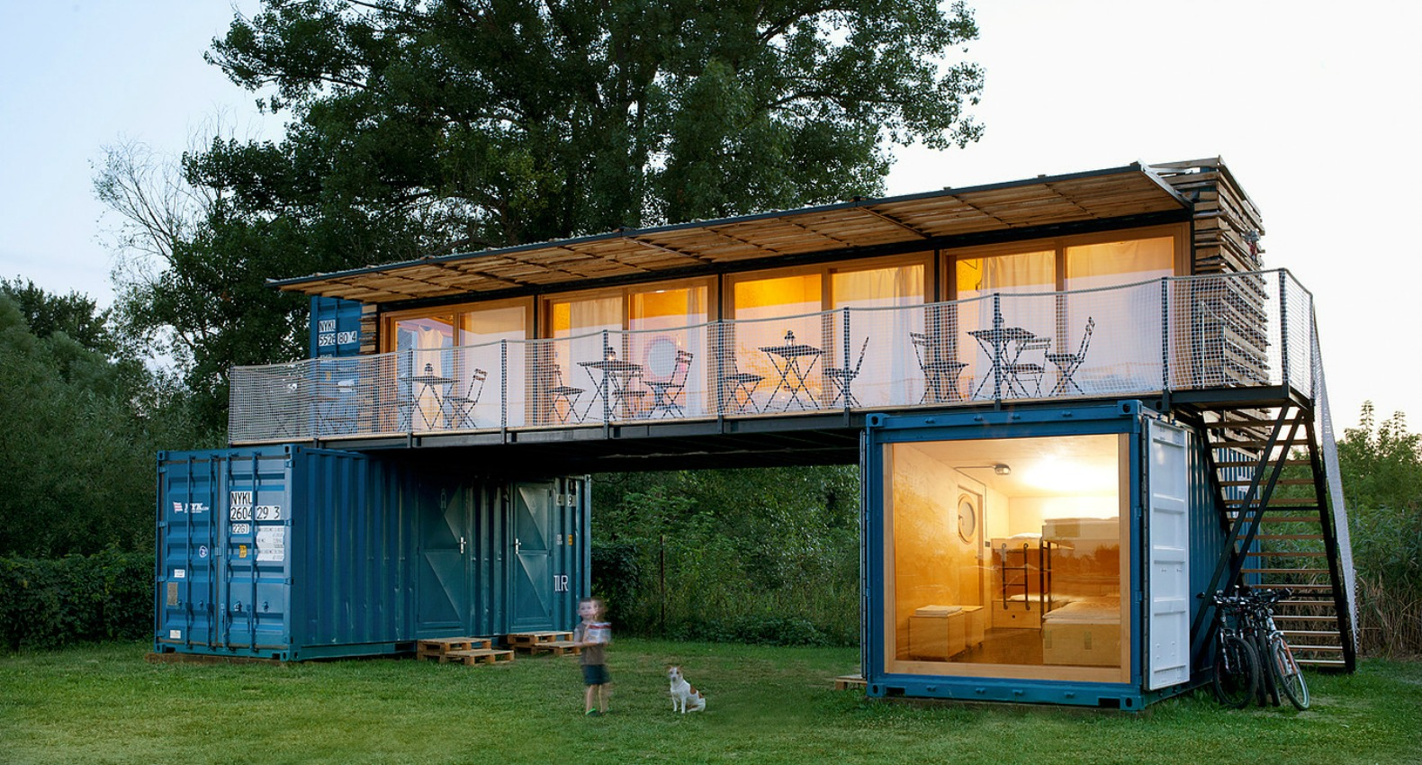 Shipping container hotel inhabitat green design innovation architecture green building - Container van homes ...