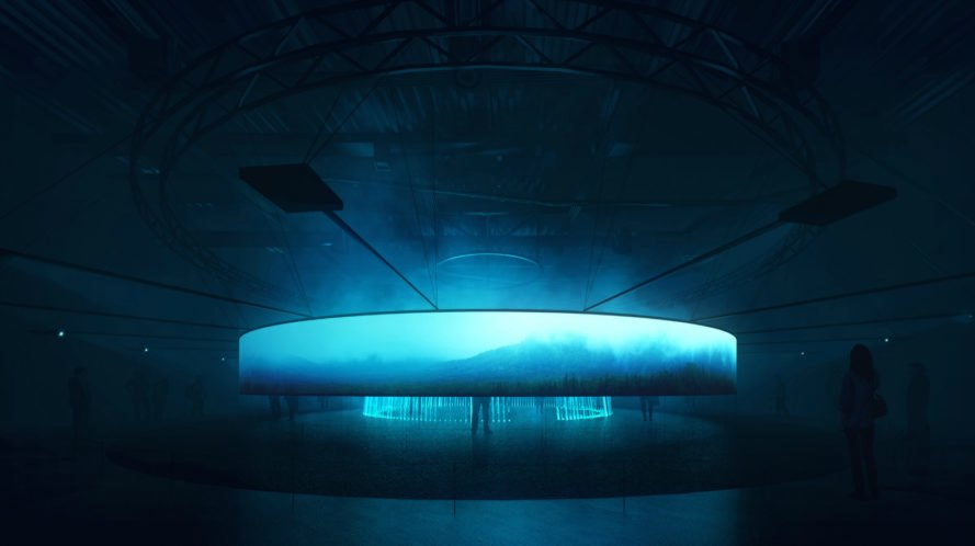 "Asif Khan, brian eno, We Are Energy pavilion, Kazakhstan expo, Astana Expo 2017, sustainable energy sources, glowing pavilions, ""infinite"" album, Future energy expo, energy expo, energy events, uk pavilion, sustainable energy, green energy, energy technologies,"