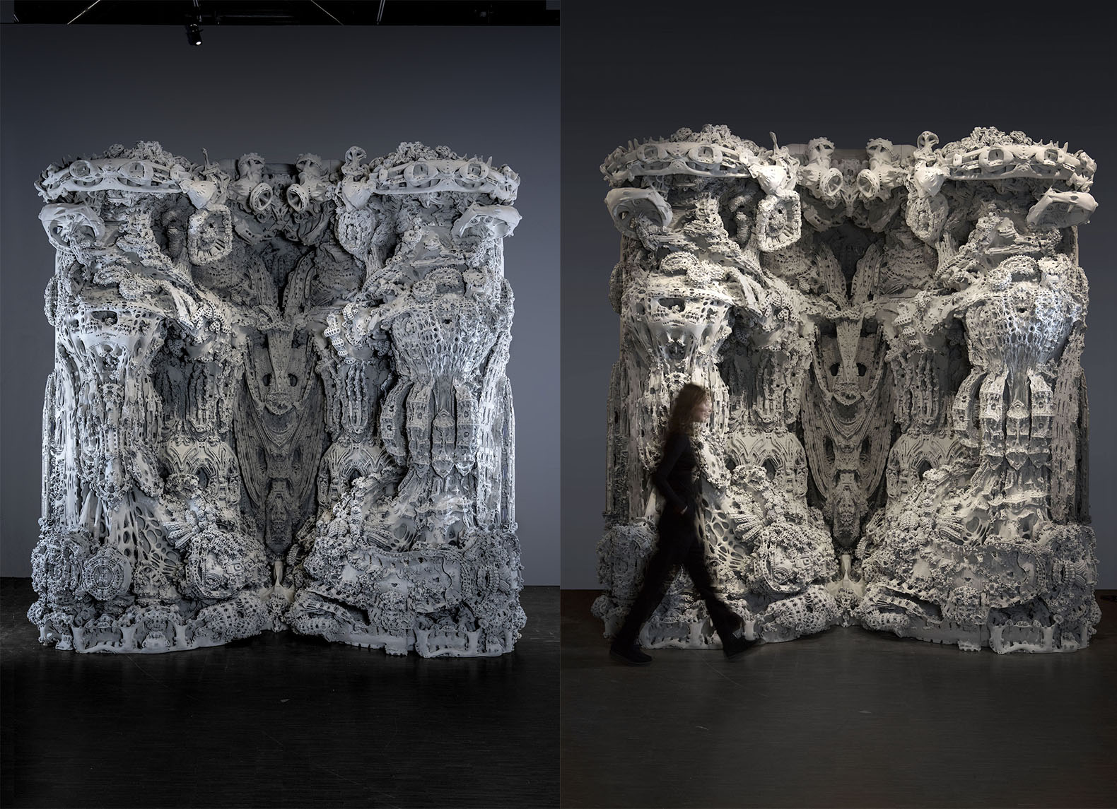 Jaw-dropping 3D-printed grotto explores the future of architecture