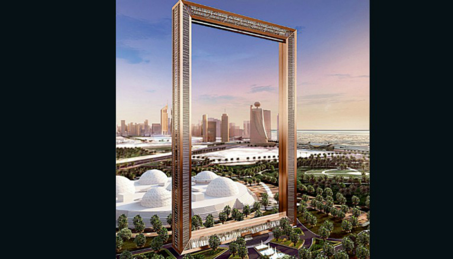 dubai 39 s craziest tower yet is the world 39 s largest picture. Black Bedroom Furniture Sets. Home Design Ideas