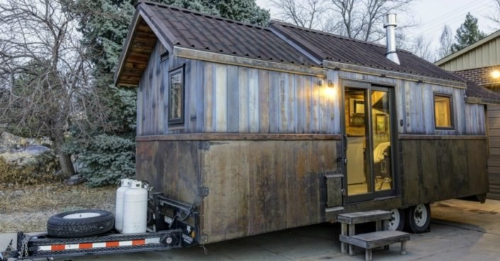 This 74K tiny home has an incredible interior that's larger than life