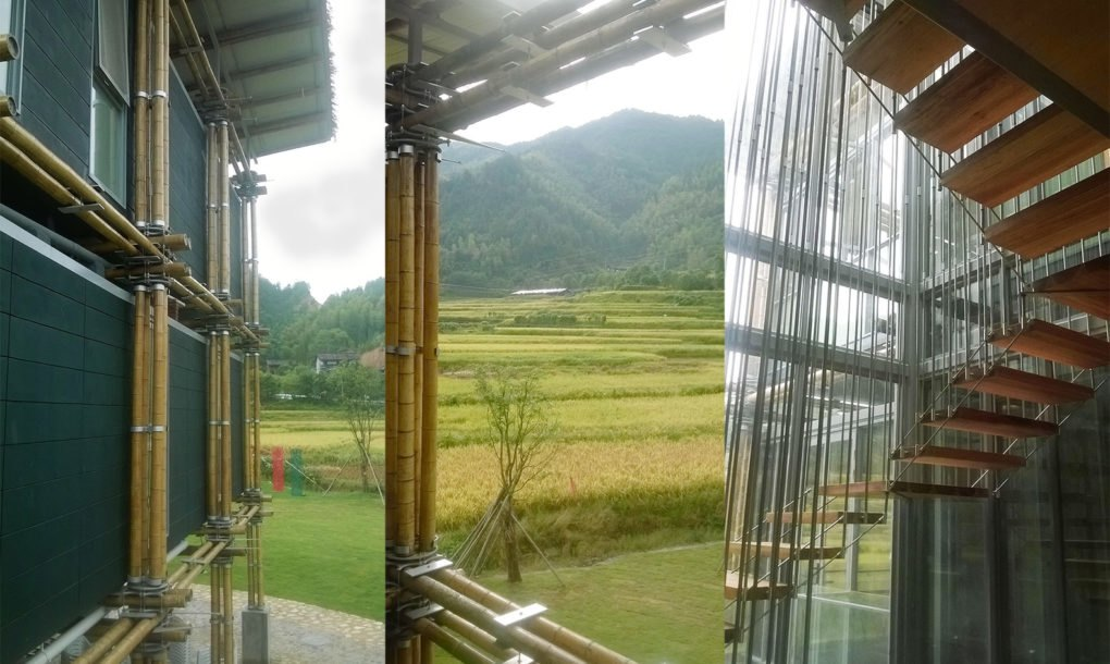 Nature Friendly Bamboo House Design: Brilliant Bamboo House Uses Ground Water For Natural