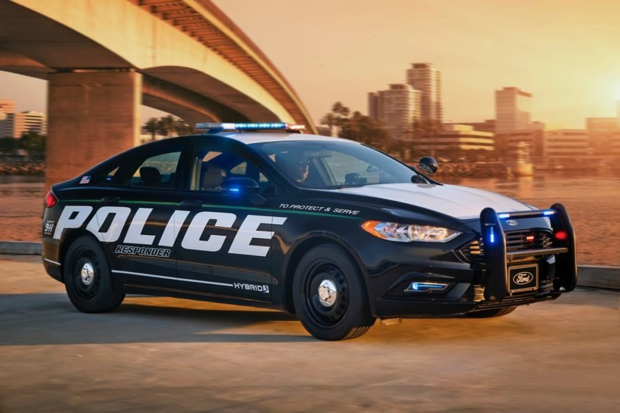 Ford Introduces The First Ever Hybrid Police Car Inhabitat