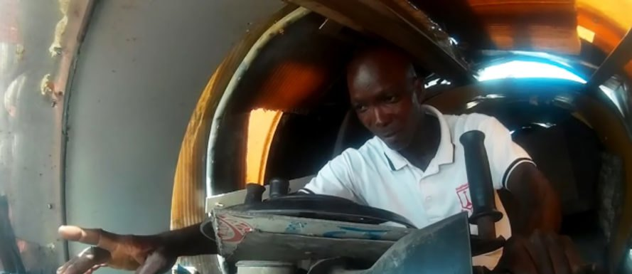 Kehinde Durojaiye, Nigeria, Lagos, aero-amphibious jet car, jet car, car, cars, vehicle, vehicles, automotive, flying car, flying cars, recycled, recycled materials, repurpose, repurposed materials, reuse, reused materials, trash, junk, invention, inventor