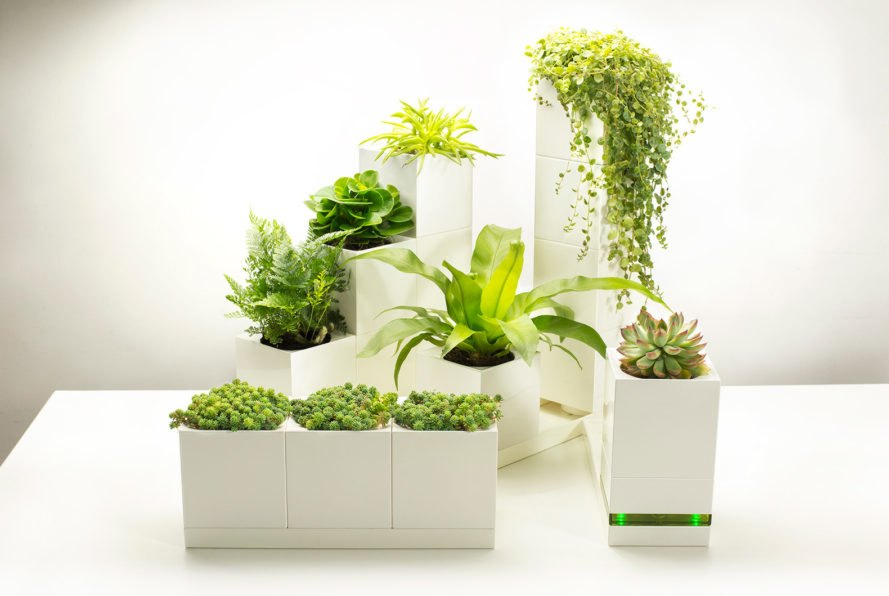 Build your own indoor garden with modular LEGO-like blocks ...
