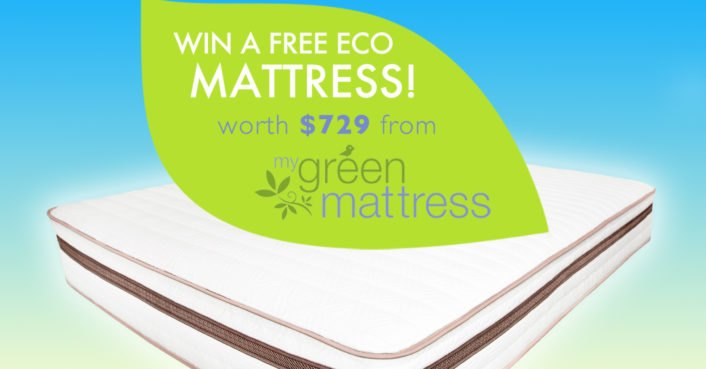 REMINDER: Today is your chance to score a free organic mattress
