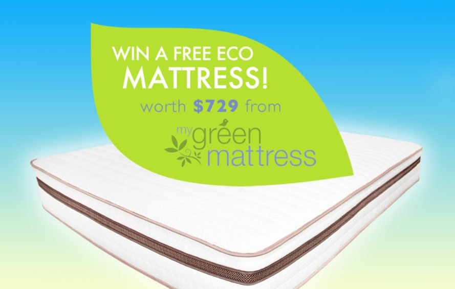 Inhabitat My Green Mattress giveaway, mattress giveaway, product giveaway, giveaways, green mattress, eco mattress, organic mattress, safe mattress, flame retardants, toxic mattress, dangerous mattress, healthy mattress, mattress safety