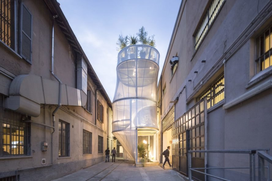 MINI Living Breathe, MINI Living at Milan Salone del Mobile 2017, MINI housing, MINI Living Breathe by SO – IL, SO – IL Architects and MINI, MINI at Milan design week, Milan Design Week house, futuristic housing, housing shortage solutions