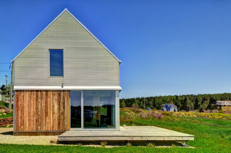 MLS Architects, Muir Craig House, Nova Scotia architecture, nova scotia home design, barn home, barn-inspired homes, birchwood homes, corrugated metal homes, barn designs, renovated barn designs, wooden homes, wooden interiors, barn design, interior design, vernacular design, gabled roofs,