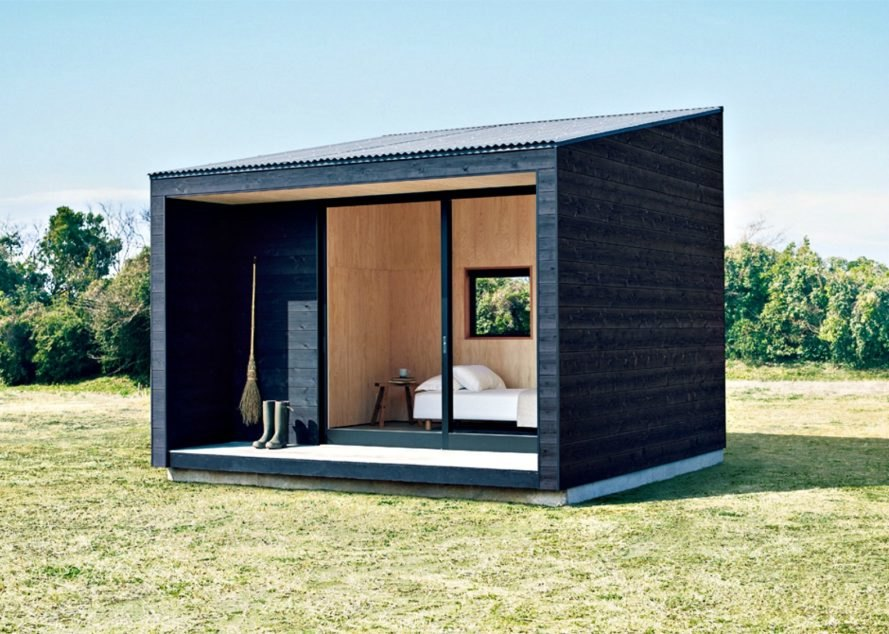 Muji Hut, tiny house, tiny huts, prefab tiny homes, transportable huts, muji cabins, cabin design, timber cabins, tiny homes, tiny cabins, wooden cabins, muji hut prices, muji hut design, japanese cabins, wooden huts, wooden retreats, temporary shelters, minimalist living, minimalist cabins, tiny home living