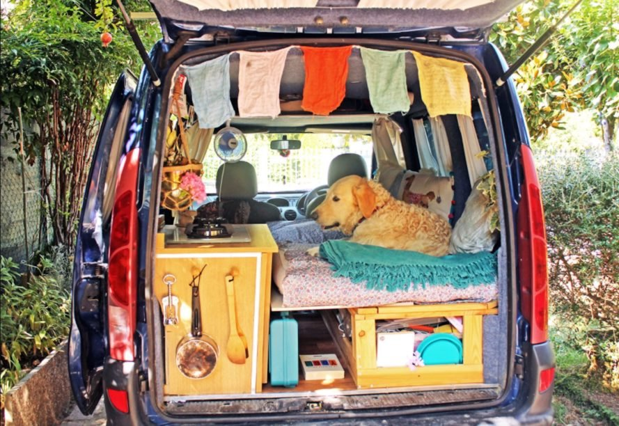 Van Conversion DIY Mobile Living Nomadic Life
