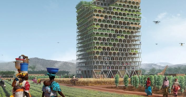 Incredible farming skyscraper could fight poverty and feed the
