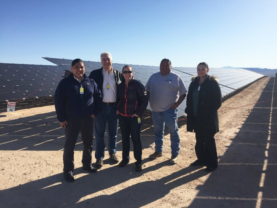 How A Small Tribe In Nevada Shut Down Coal And Built A