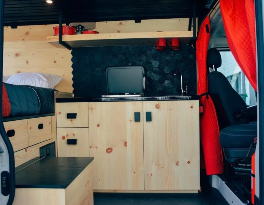 Ford Transit Vans >> Living out of a van has never looked this good | Inhabitat ...