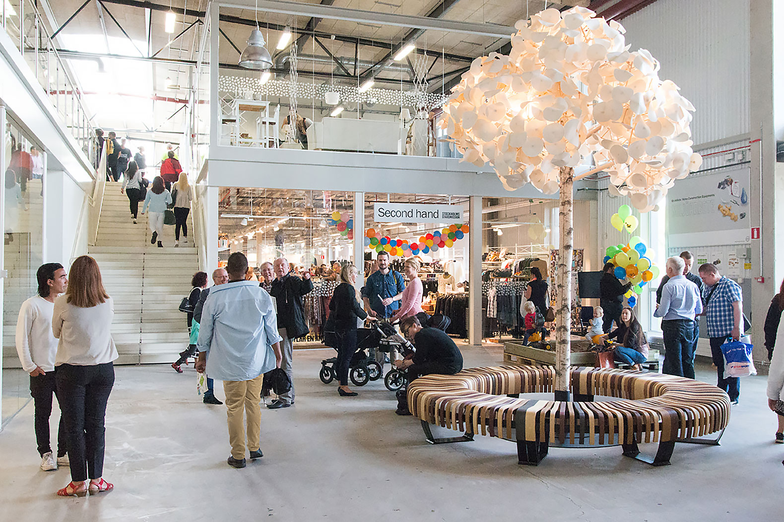 Sweden opens an entire mall full of reclaimed goods