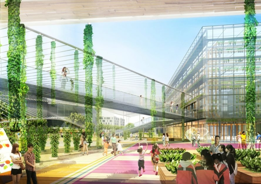 Shanghai Is Planning A Massive 100 Hectare Vertical Farm