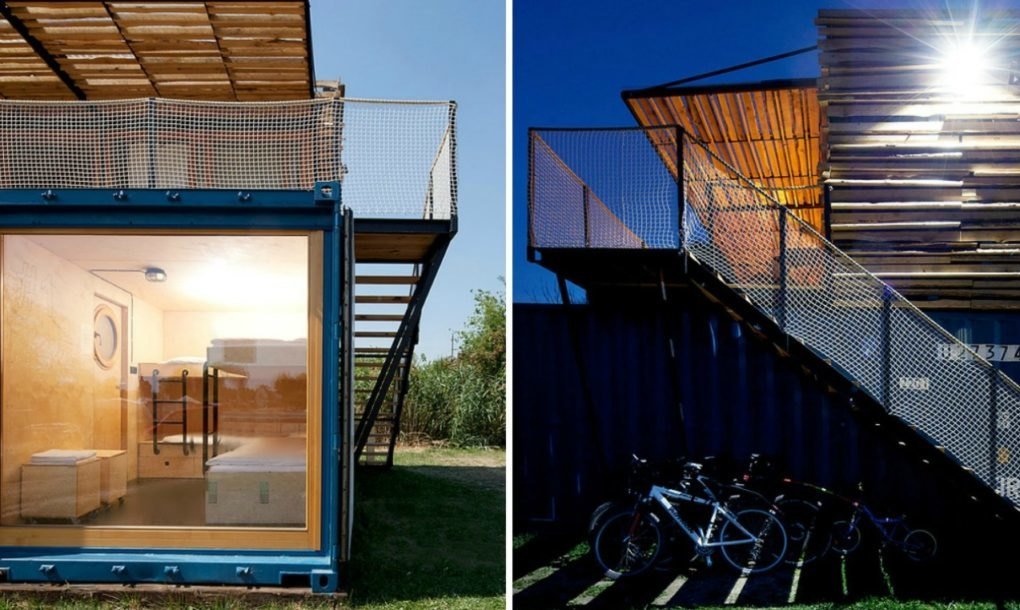 This Amazing Shipping Container Hotel Can Pop Up Anywhere