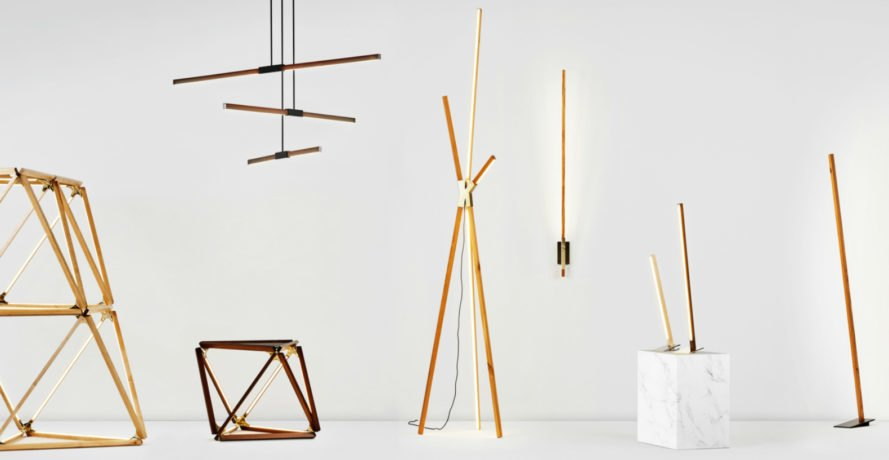 Stickbulb, Rux design, stickbulb lamps, Boom lamps, led lighting, reclaimed wood, wooden lamps, reclaimed furniture, green lighting, lighting design, light design, lamp design, milan design festival, Milan Design Week, green interior design, sustainable design,