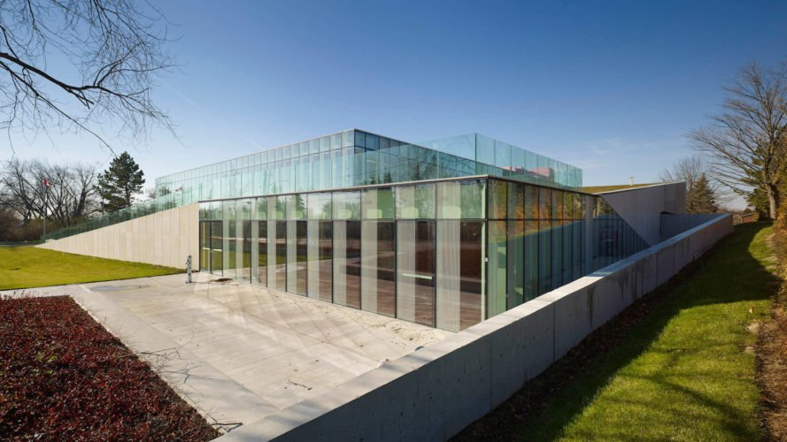 Waterdown Library and Civic Center, Waterdown Library and Civic Center by RDHA, Waterdown Library and Civic Center in Ontario, beautiful library architecture, sustainable libraries, energy efficient library design, library and civic center design