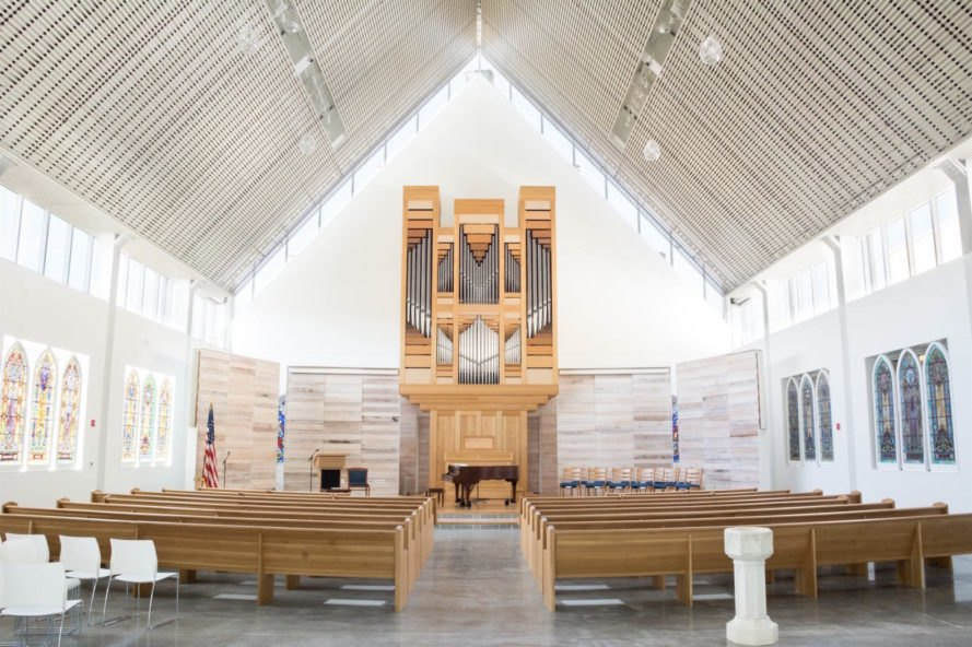Westport Presbyterian Church restoration, Westport Presbyterian Church in Kansas City, Westport Presbyterian Church renovation by BNIM, Westport Presbyterian Church fire, Westport Presbyterian Church Kansas City AIA award, renovated church architecture,