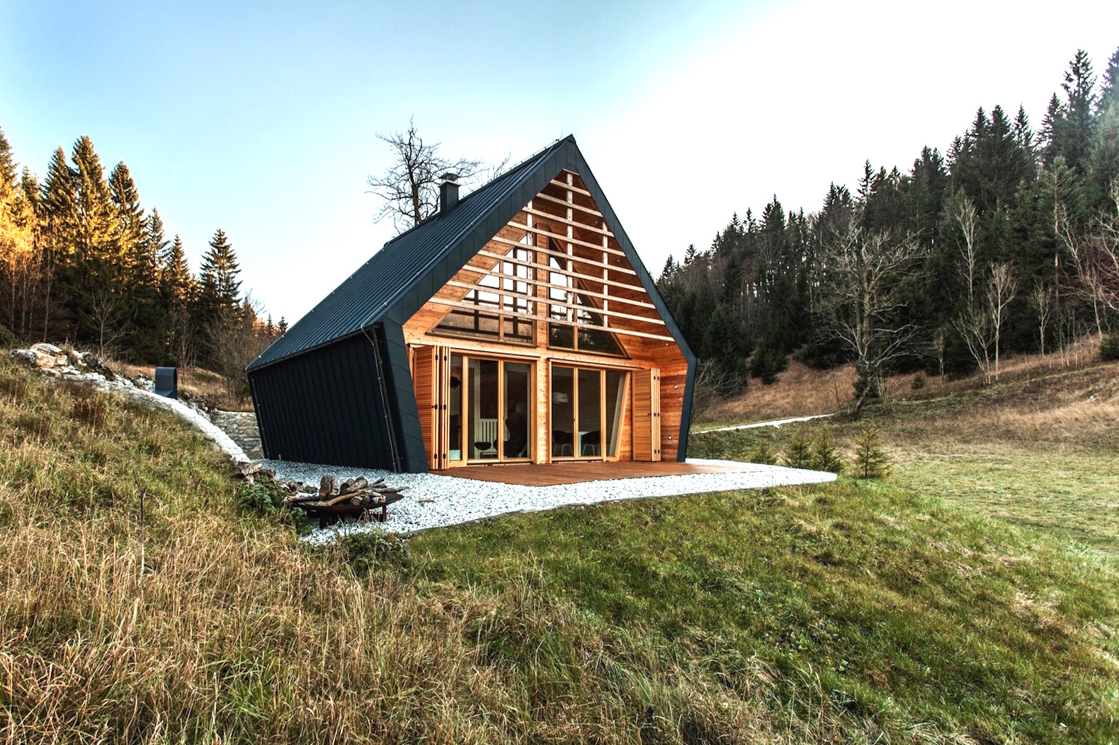 Gorgeous forest home will fulfill your tiny cabin dreams