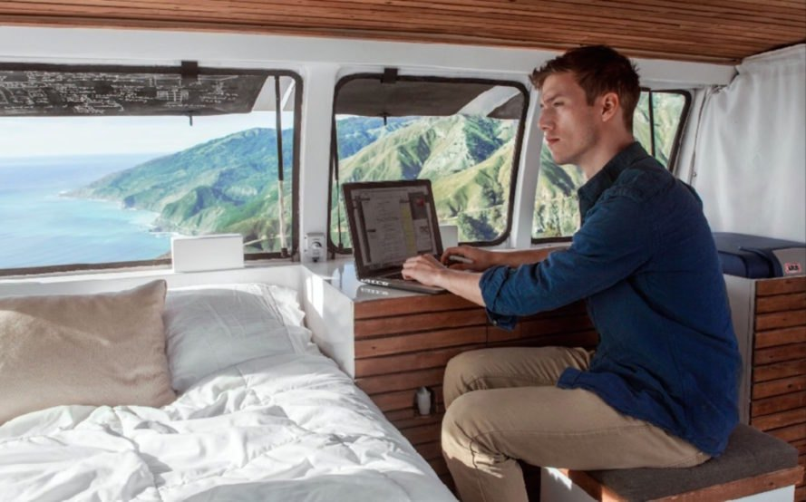 Zach Both, van conversion, traveling filmmaker, tiny home