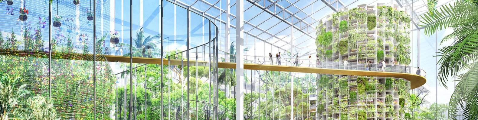 Shanghai Is Planning A Massive Hectare Vertical Farm To Feed