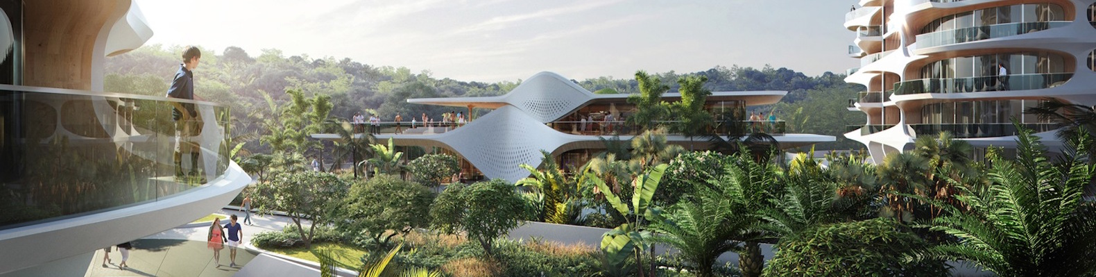 Zaha Hadid Architects Designs Ecological Residential Complex For Mexicos Riviera Maya