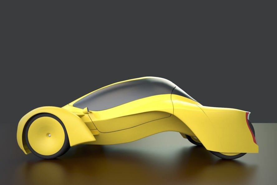 Audi Cetus by Niko Kapa, Niko Kapa design, Audi Cetus, European Product Design Award winners, conceptual luxury car, zero emissions car, hydrogen powered car
