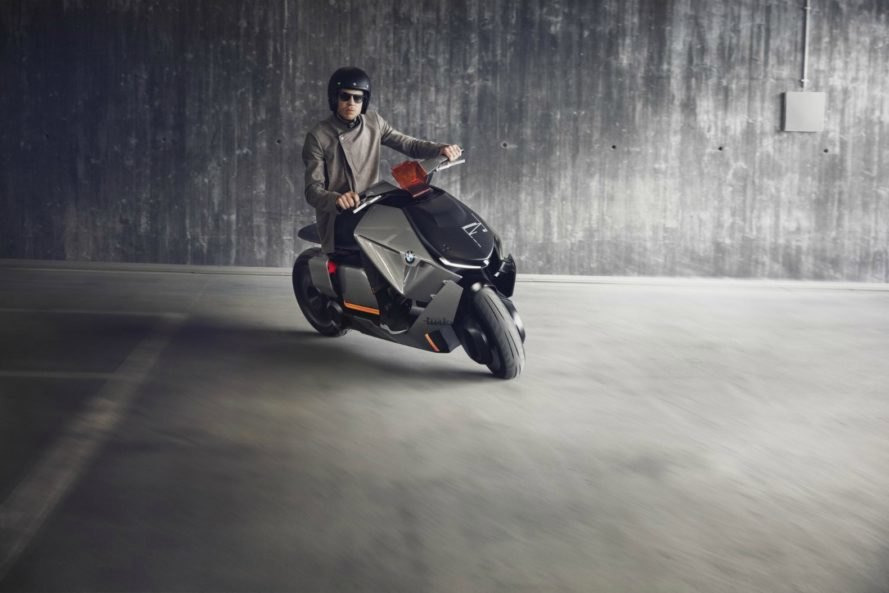 BMW Motorrad Concept Link, motorbike, electric, green technology, green transportation, innovation,