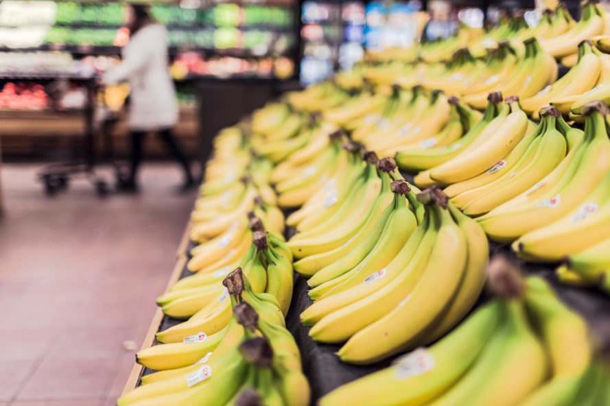 Sainsbury's, WRAP, Waste Less Save More, grocery, groceries, grocery store, supermarket, supermarkets, food, food waste, banana, bananas, fruit, fruits