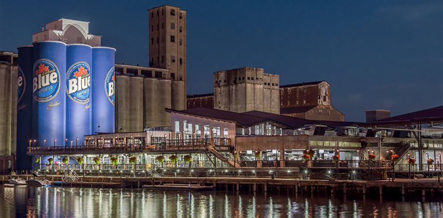 Buffalo, New York, Buffalo RiverWorks, RiverWorks, Buffalo waterfront, Abstract Architecture, Kromac Design, architecture, grain, grain silo, grain silos, silo, silos, grain elevator, grain elevators, brewery, breweries, brewing, beer