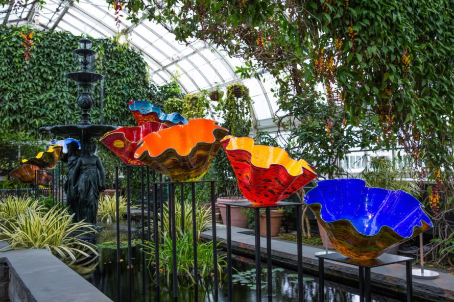 See Chihuly S Dazzling Glass Art Take Over The New York Botanical Garden Inhabitat Green